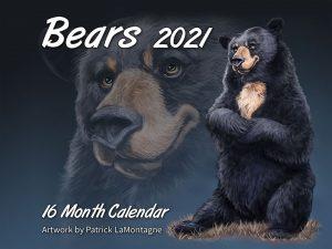 Bears 16 month Calendar 2021