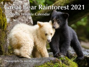Great Bear Rainforest 2021 Calendar