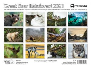 Great Bear Rainforest Calendar 2021
