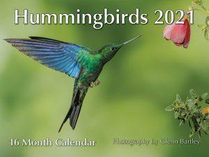 Hummingbirds 16 month Calendar 2021