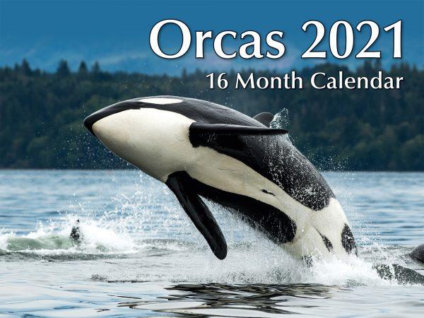 Orcas 2021 Calendar