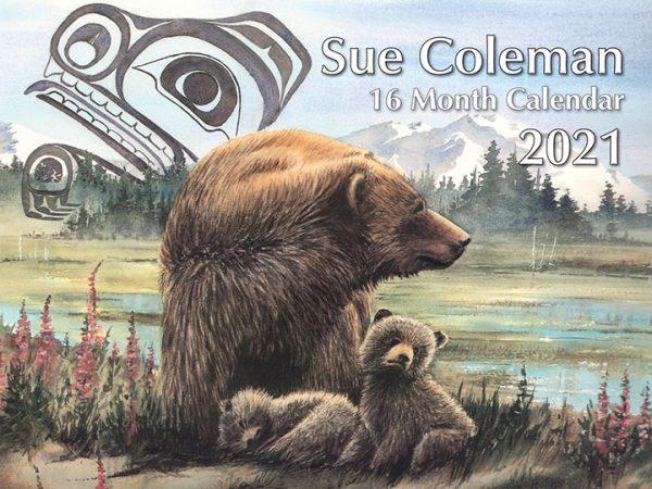 Sue Coleman 16 month Calendar 2021