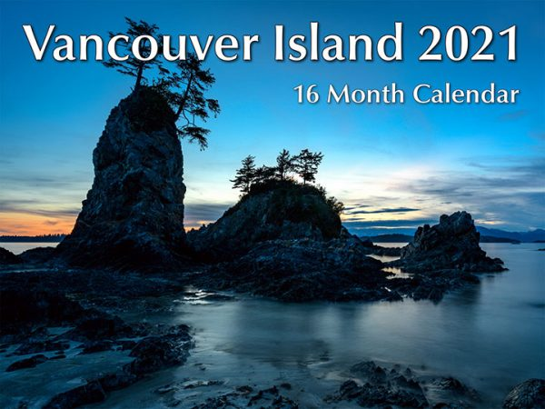 Vancouver Island 16 month Calendar 2021