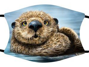 Otter face mask