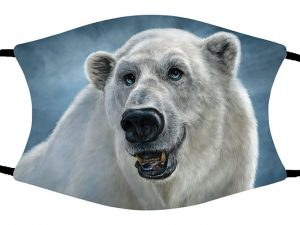 Polar Bear face mask
