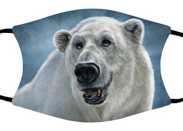 Polar Bear face mask