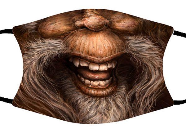 Sasquatch face mask