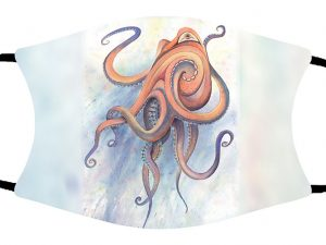 Octopus face mask