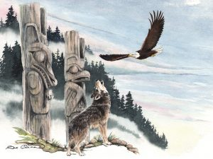 Eagle and Wolf
