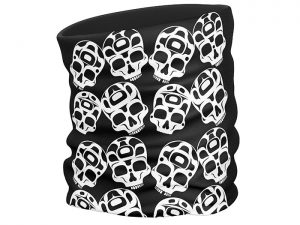 The Story is in the Soil (Skulls) face scarf