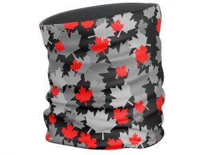 Maple Leaves face scarf