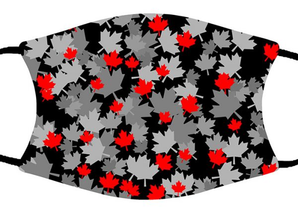 Maple Leaves face mask