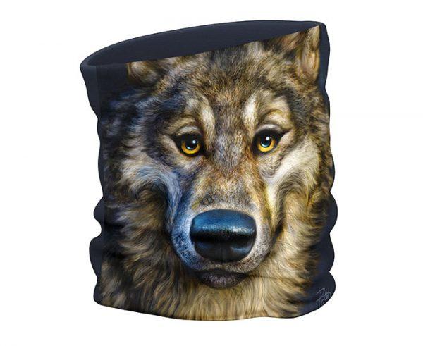 Wolf Face Scarf / Gaiter