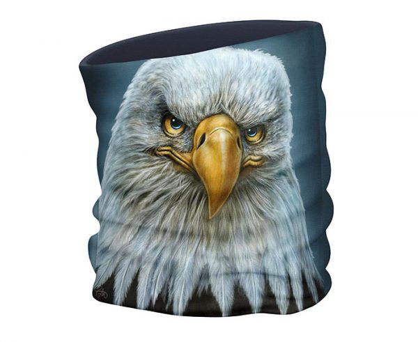 Bald Eagle face scarf