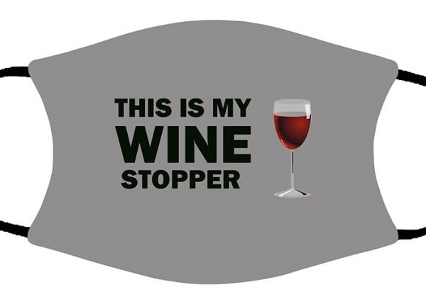 Wine Stopper face mask