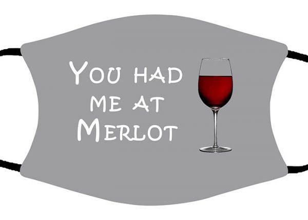 Merlot face mask