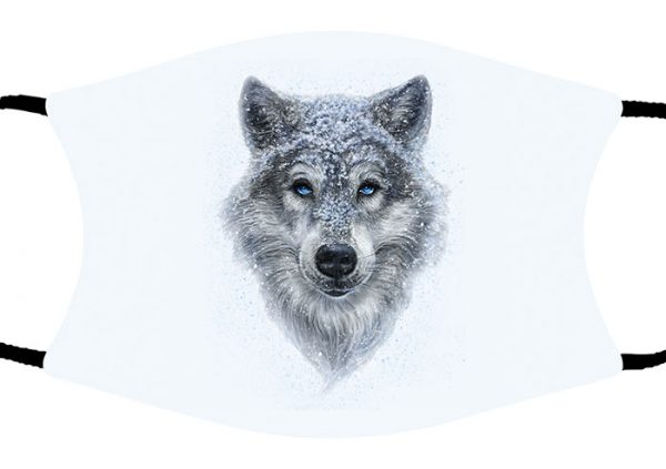 Winter Wolf face mask