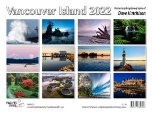 PMVI2022 Vancouver Island Calendar 2022 back cover