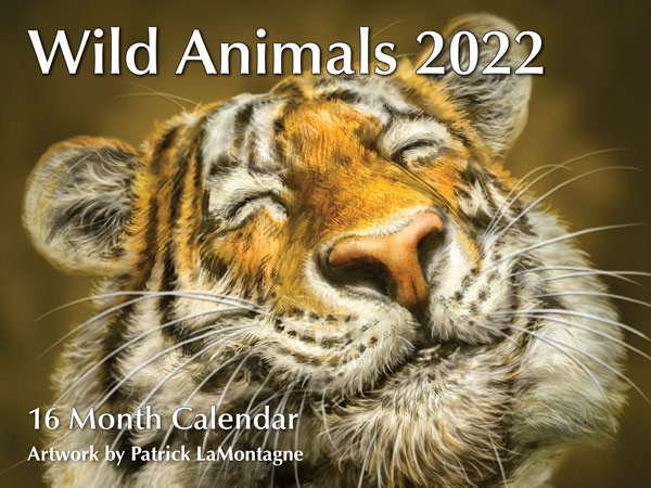 PMPL2022 Wild Animals Calendar 2022