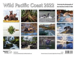 PMWPC2022 Wild Pacific Coast Calendar back cover