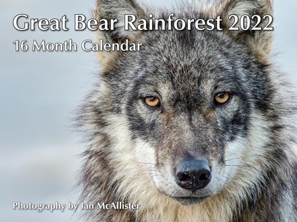 PMIM2022 Great Bear Rainforest Calendar 2022