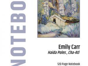 Haida Poles Notebook